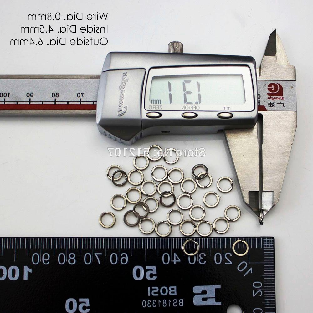 200pcs 3, 4.5, 7,7.5 mm Stainless <font><b>Heavy</b></font>