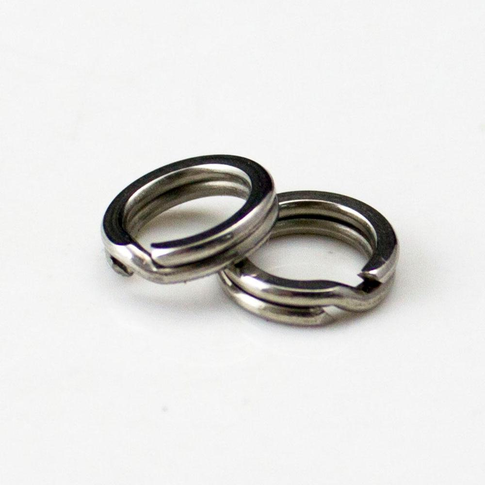 4.5, 7,7.5 mm Stainless <font><b>Heavy</b></font> <font><b>Duty</b></font> Split Rings Terminal Tackle