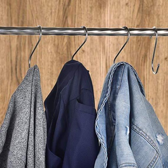 24 Heavy S Hooks Stainless Steel S Hangers for