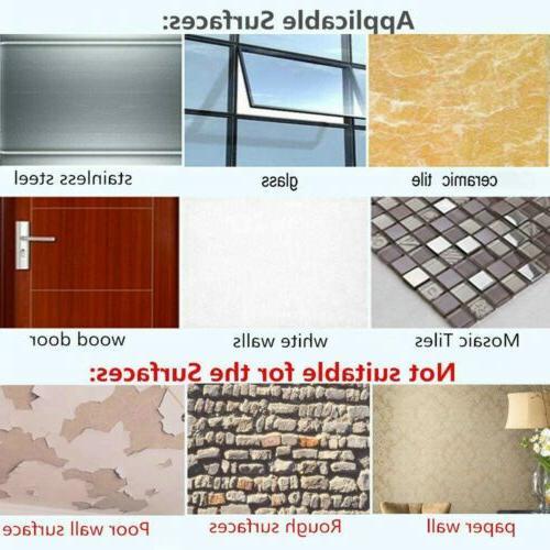 24 Adhesive Hooks Heavy Wall Transparent Reusable Waterproof