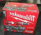 "Milwaukee 2697-22 M18 1/2"" Hammer Drill & Hex Impact Driver"
