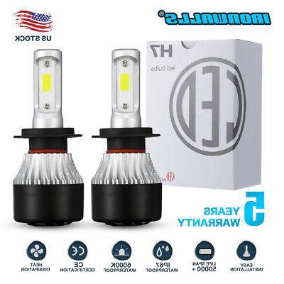 H1 LED Headlight Car Bulbs 6000K Lamp 220W High Low Beam Super Bright CREE UK