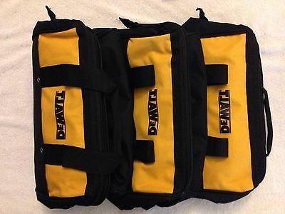 "3 Heavy 13"" Tool Bags Solid Runners"