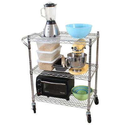 Oceanstar 3-Tier Duty All-Purpose Cart,