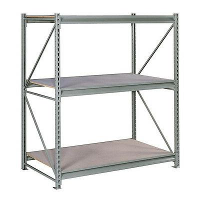 Edsal Heavy Duty 3-Tier  Gray Steel Freestanding Storage She