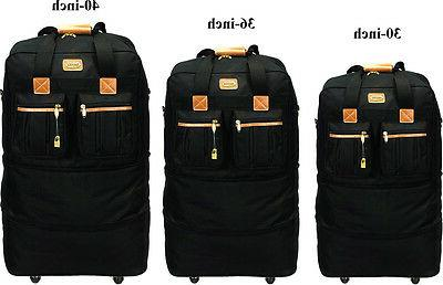 30 36 40 expandable rolling duffel wheeled