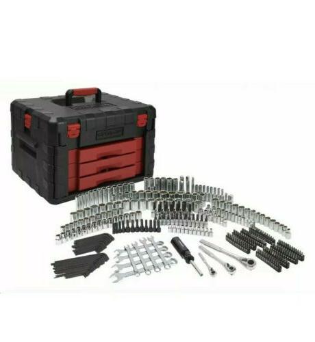 320-Piece Mechanics Set with Heavy Storage Organizer Case Box