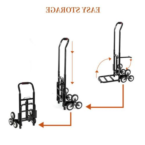 330lb Heavy Climbing Moving Dolly Truck Appliance