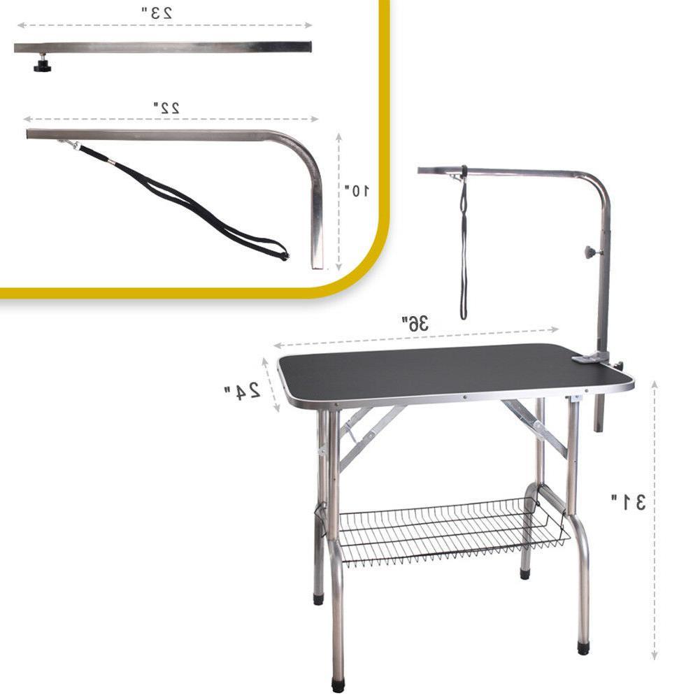 36'' Heavy Duty Pet Dog Fold Grooming Table
