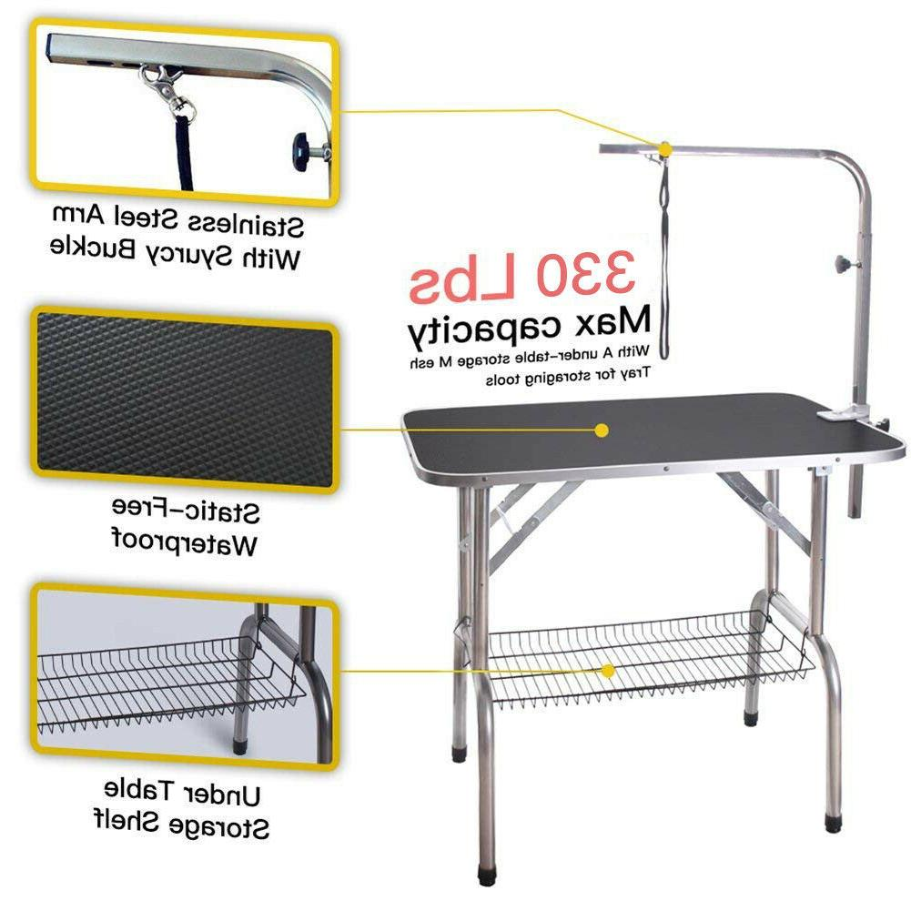 Pet Cat Dog Fold Grooming Table