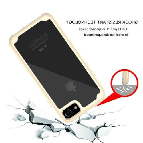 3in1 Heavy Duty Transparent for Apple iPhone 8/8Plus
