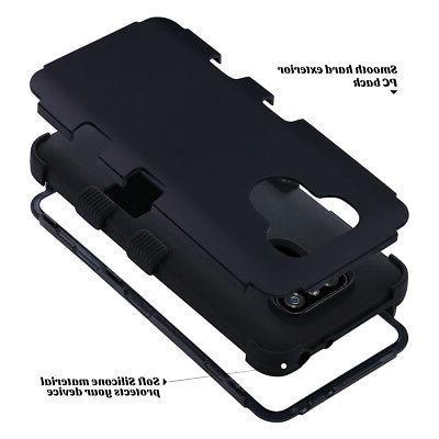 ULAK Rugged Shockproof Hybrid Hard Cover LG G6