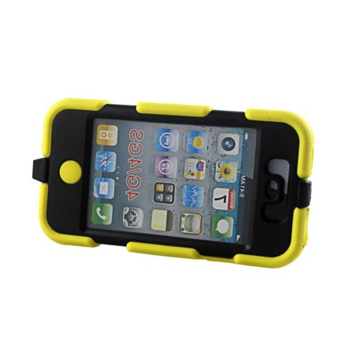 3in1 Shock Proof Tough Case iPhone Clip Holster