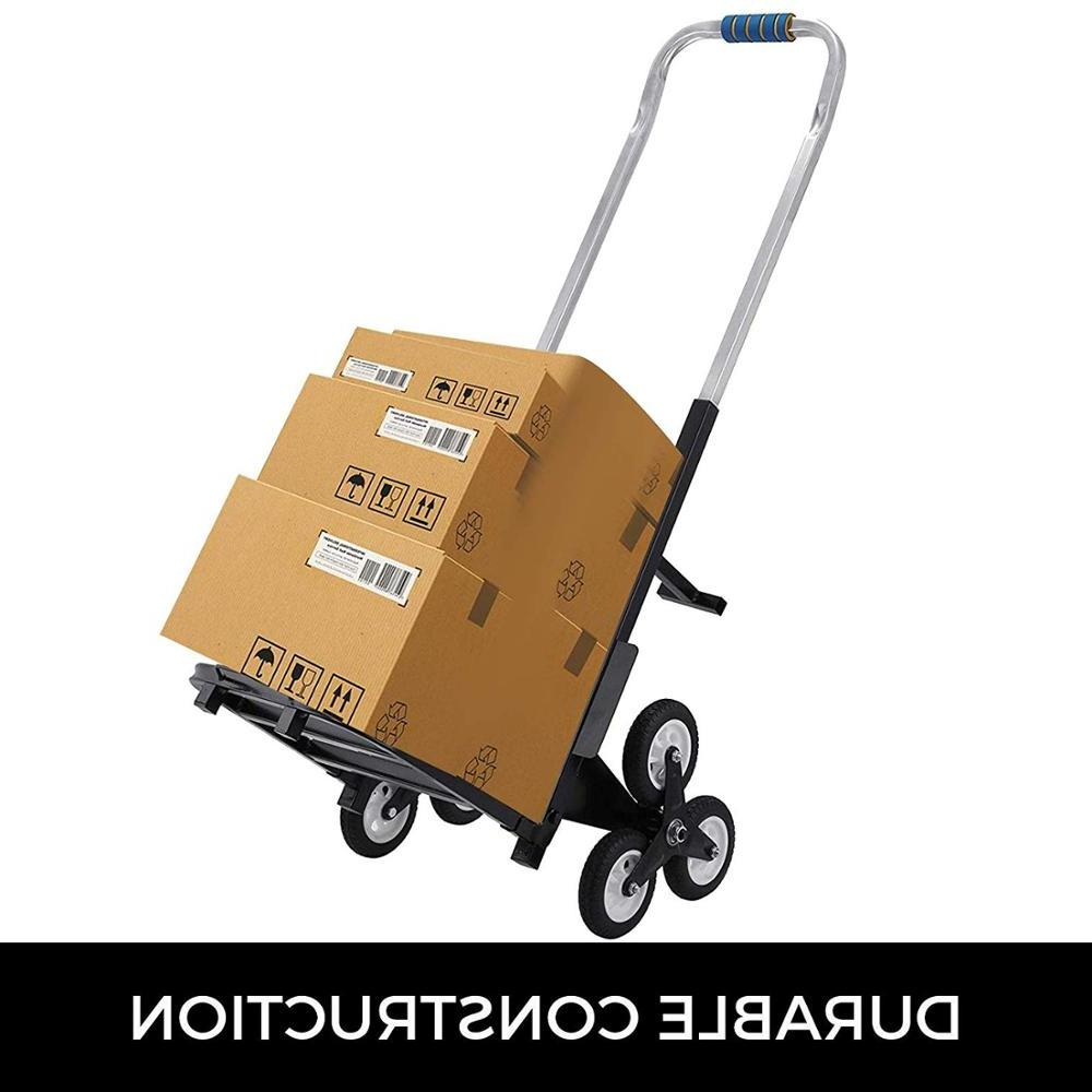 330LBS Portable <font><b>Stair</b></font> Climbing Cart 44.5