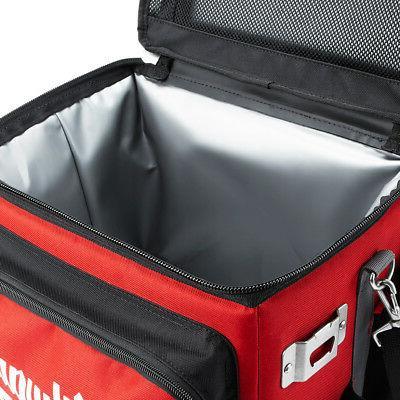 Milwaukee 48-22-8250 21.65-Quart Red Heavy Duty Ballistic Jobsite Cooler