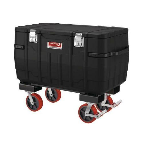 48 inch job box forklift caster system