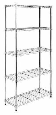 5-Tier Supreme Shelves