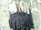 6 pr heavy duty brown jersey gloves