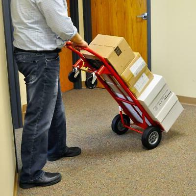 Milwaukee lb. 2-in-1 Convertible Hand Truck Steel Frame