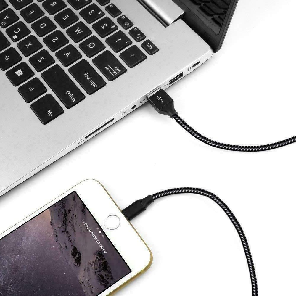 6Ft Charging Duty For iPhone XS 8 7 6 Plus Charger Charging Cord