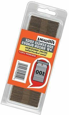 Allway Tools 0.009-Inch Industrial Quality Single Edge Razor