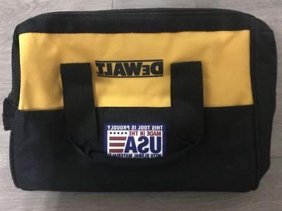 "DEWALT 13"" 6 Pocket Heavy Duty Nylon Canvas Contractor Tool"