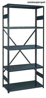 Edsal 2912-5 Industrial Gray 22-Gauge Steel Commercial Open