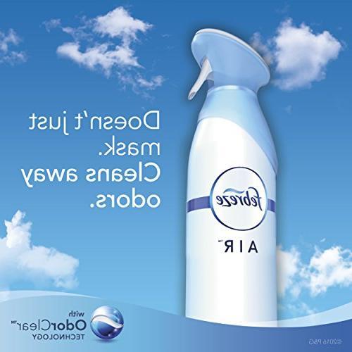Febreze AIR Freshener Heavy Duty Crisp Clean,