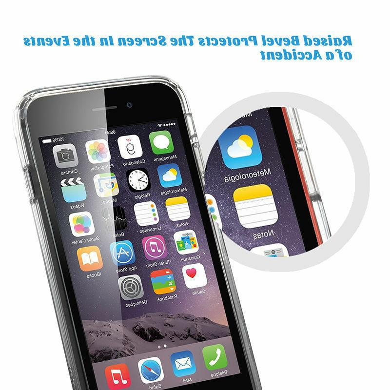 For Apple iPhone / Clear Cover Shockproof Protective