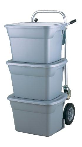 Capacity Hand Truck Dolly Rubber