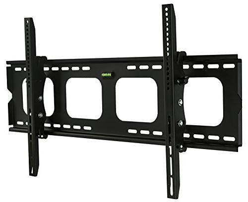 Mount-It! Tilt TV Wall Mount Bracket for 40 - 80 inch LCD, L