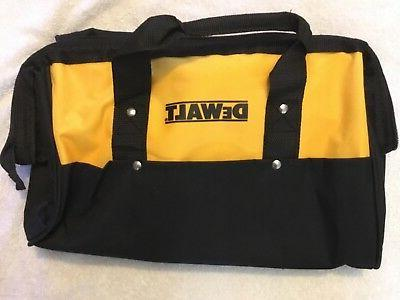 "New Dewalt Heavy Duty Ballistic Nylon Tool Bag 15"" w Runne"