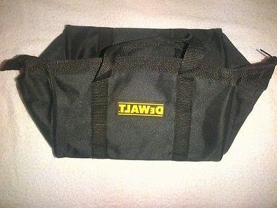 "New Dewalt Heavy Duty Black Ballistic Nylon Tool Bag 11"" for"