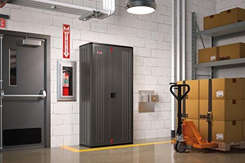 Suncast Molded Mega Cabinet in 4