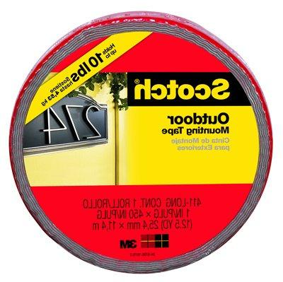 Wholesale CASE - 3M Exterior Tape-Heavy-Duty Mounting Tape, lb.,