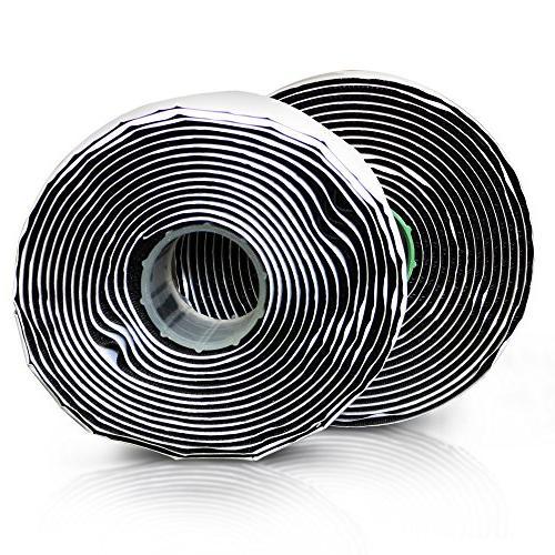 adhesive hook loop black industrial