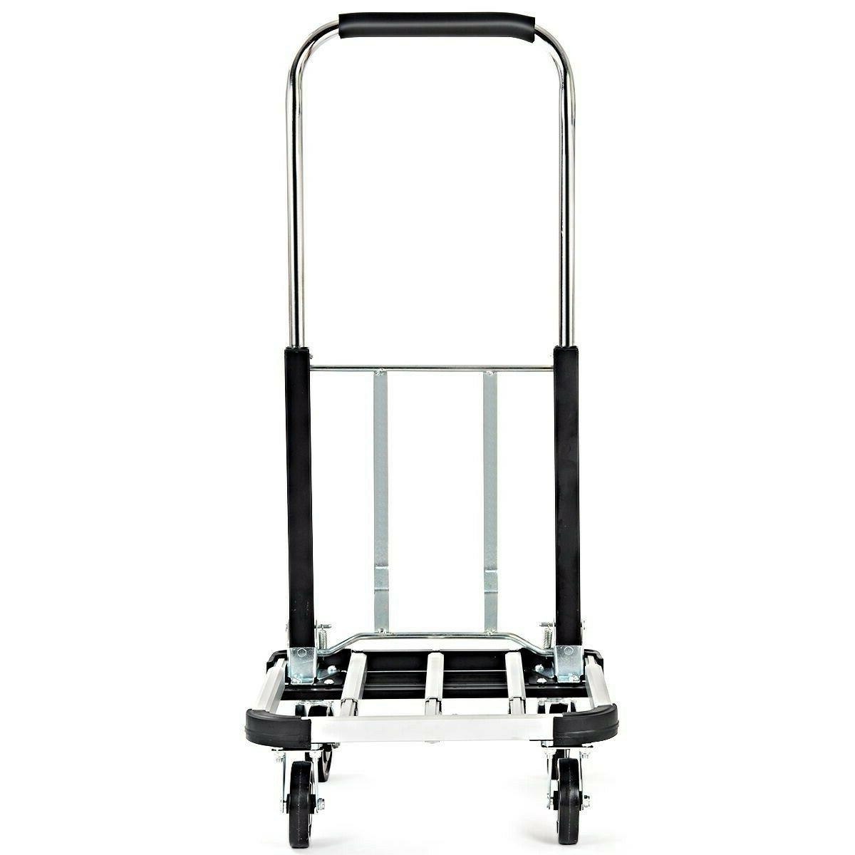 Aluminium Hand Foldable Cart Heavy
