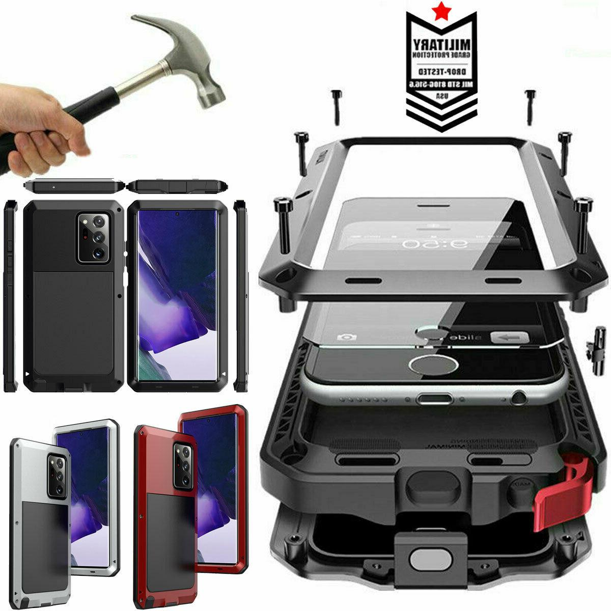 aluminum heavy duty case cover samsung note