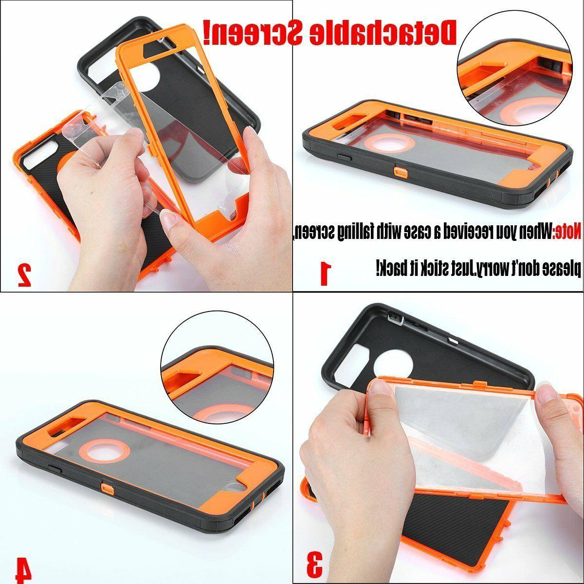 For Apple Plus Duty Protective Rugged Defender