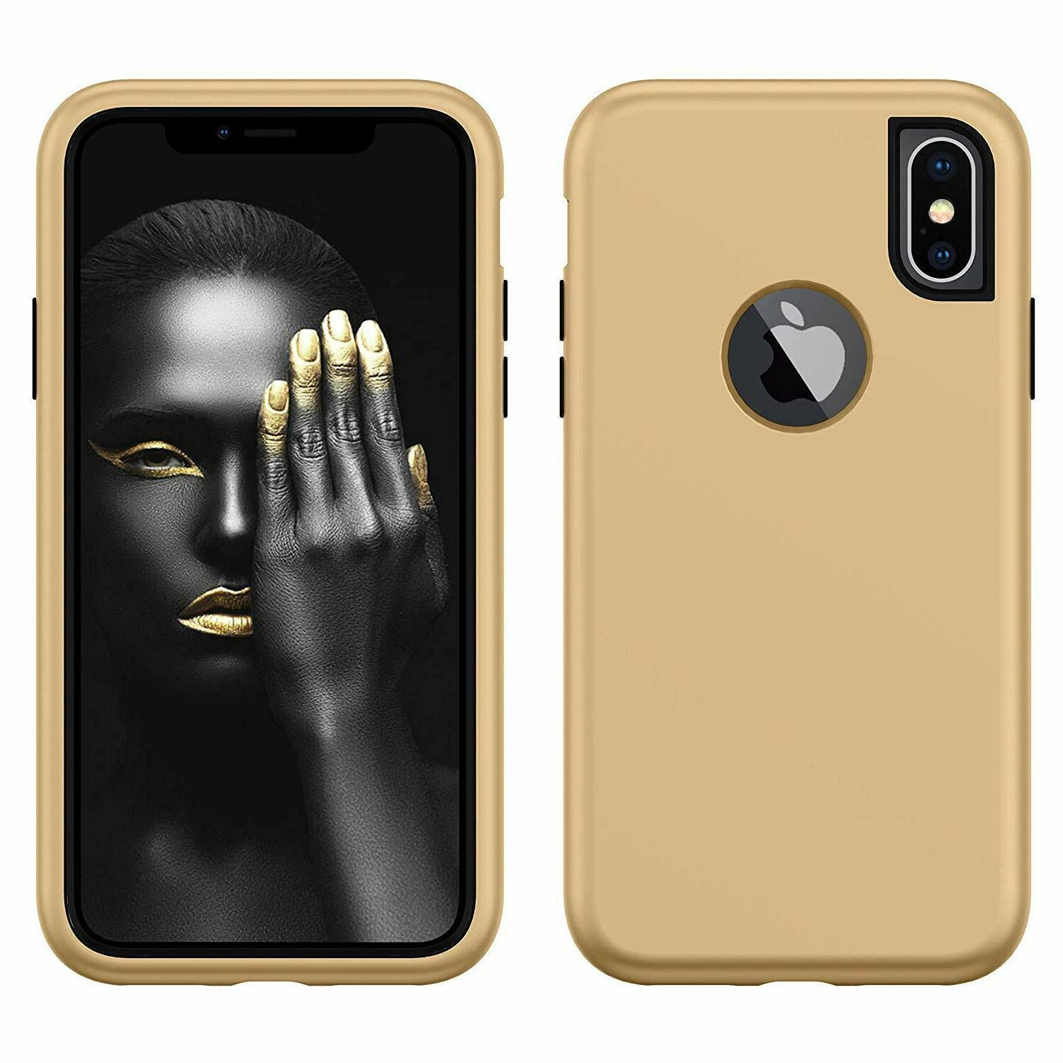 8 Plus Protective Soft Duty Hybrid