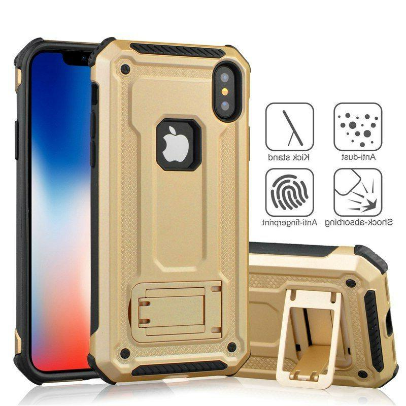 armor heavy duty shockproof kickstand cover case