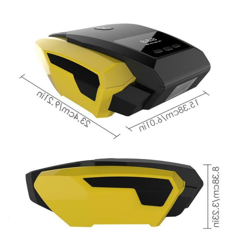 Car Compressor Duty Digital Inflator Auto DC 12V