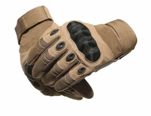 Carbon Work Impact Gloves Engineering