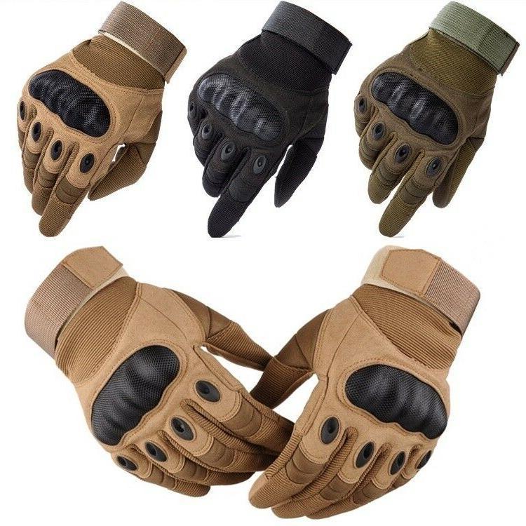 carbon fiber tactical safety work gloves men
