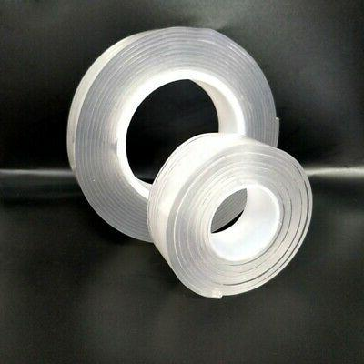Clear Sided Sticky Duty Tape Repair