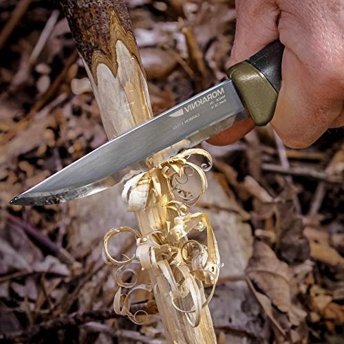 Morakniv Companion Knife Carbon Steel Military Green