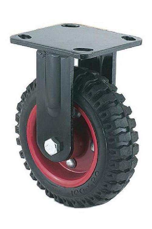 Steelex D2578 Fixed Heavy Duty Industrial Wheel, 6-1/4-Inch