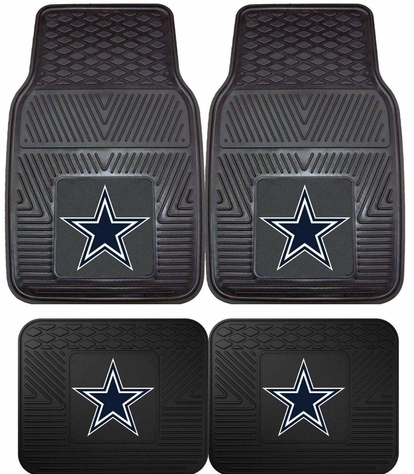 dallas cowboys heavy duty nfl floor mats