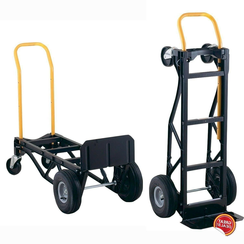 Dolly Heavy Wheel Moving Push Hand 700Lb Convertible 10