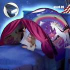 Dream Tents Foldable Unicorn Fantasy Baby LED Light Kids Bed